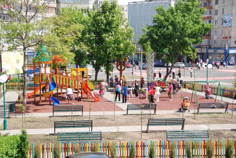 Vizualizati imaginile din articolul: Parcul Curcubeu a fost inaugurat