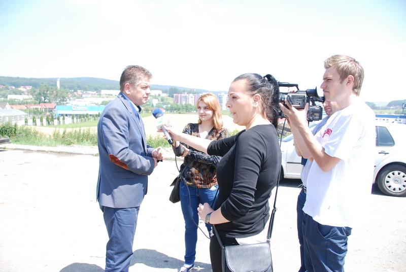 Vizualizati imaginile din articolul: Egy új körforgalom Marosvásárhelyen