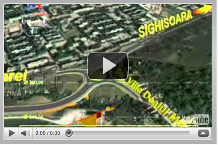 """Vizualizati imaginile din articolul: The extension of """"Calea Sighisoarei"""" street in two directions- the connection with the national road DN13 and DN15, Tg.Mures (approx. 6 km)"""