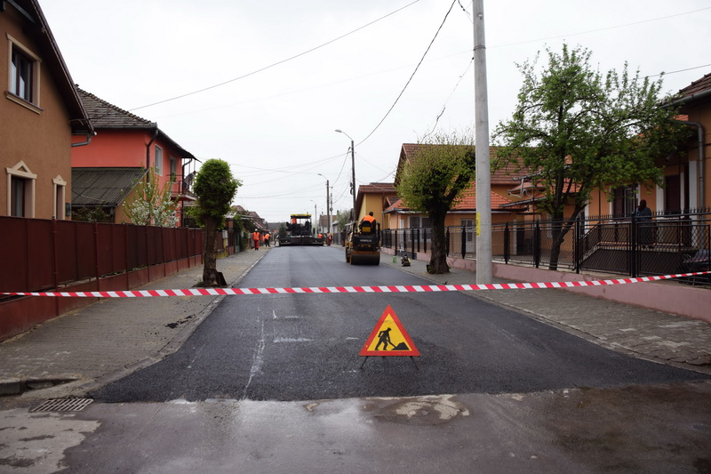 Vizualizati imaginile din articolul: Încă o stradă finalizată în cartierul Unirii
