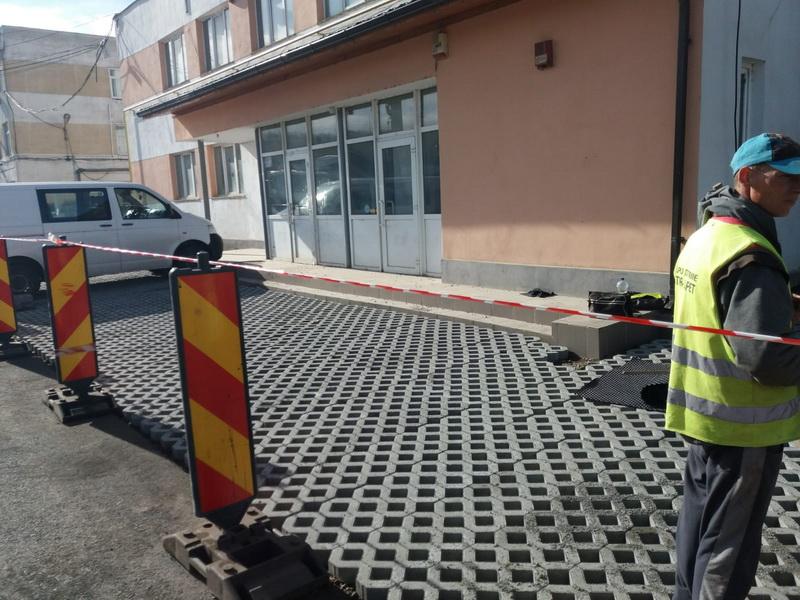 Vizualizati imaginile din articolul: Lucrări edilitare diverse în municipiul Târgu Mureş