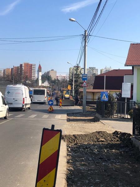 Vizualizati imaginile din articolul: Lucrări la trotuarele de pe strada Budiului