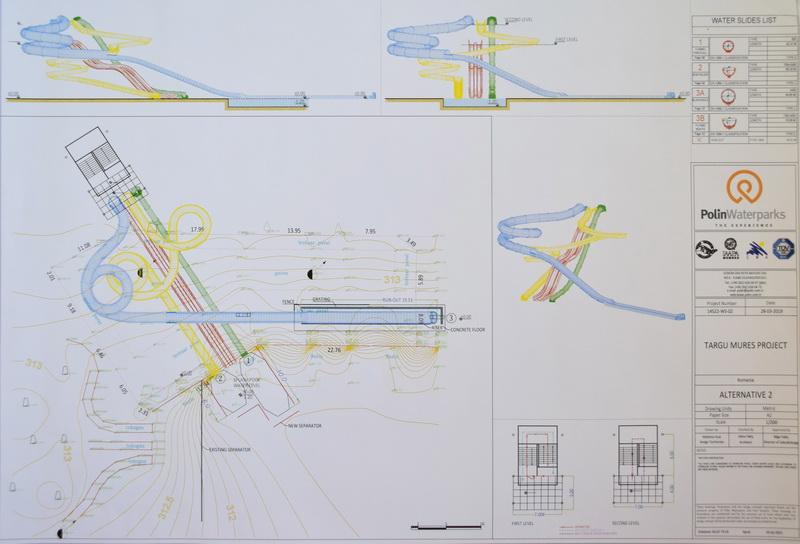 Vizualizati imaginile din articolul: Complexul 'Week-end' din Târgu Mureș va avea noi tobogane cu jet de apă din luna august! Contractul a fost semnat