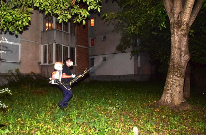 Vizualizati imaginile din articolul: La Târgu Mureș continuă activitatea de dezinsecţie!