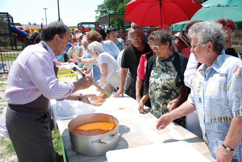 Vizualizati imaginile din articolul: A nyugdíjasok Dorin Florea polgármesterrel piknikeztek