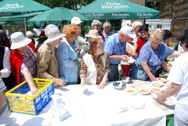 Vizualizati imaginile din articolul: Pensionarii, la picnic cu primarul Dorin Florea