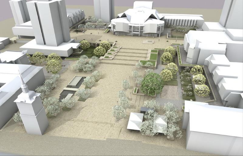 Vizualizati imaginile din articolul: Modernization of the Theatre Square in Tg. Mures