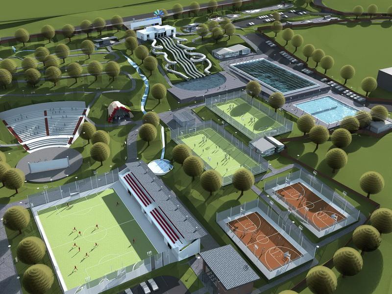 Vizualizati imaginile din articolul: Recreational area in Tudor Vladimirescu district- Tg. Mures