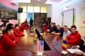 Texas állam vízilabda-bajnokai látogattak Marosvásárhelyre