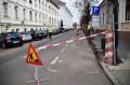 Trafic cu restricții. Lucrări la trotuarul de pe strada Nicolae Iorga