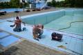 Lucrări intense pentru redeschiderea bazinului mare de înot la Week-end